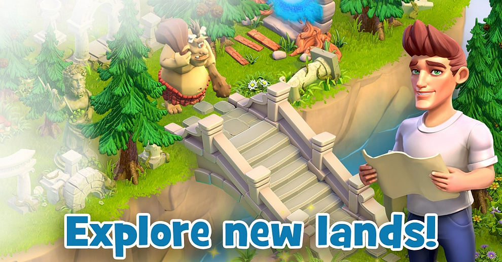 Screenshot № 4. Download Land of Legends: Divine Town and more games from Realore website