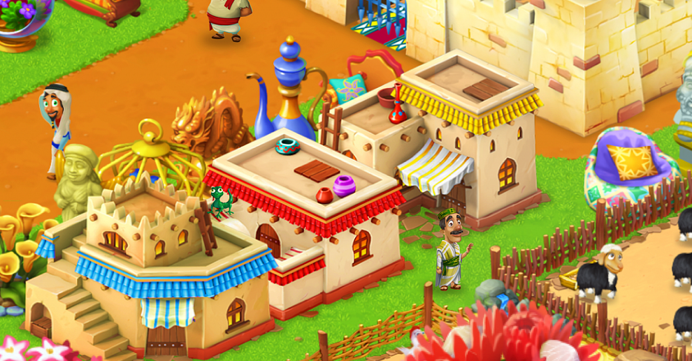 Screenshot № 2. Download Farm Mania: Silk Road and more games from Realore website