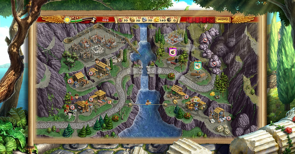 Screenshot № 5. Download Roads of Rome: New Generation and more games from Realore website