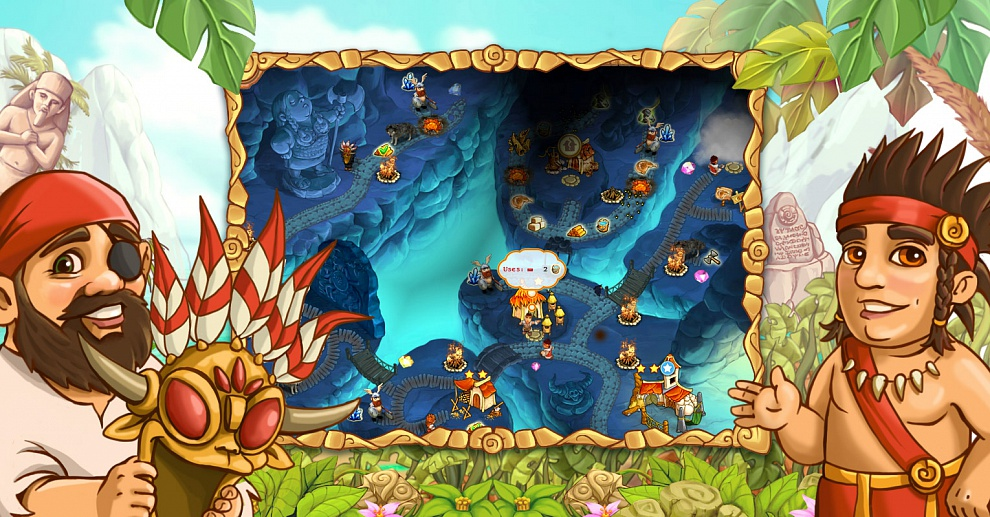 Screenshot № 3. Download Island Tribe 4 and more games from Realore website