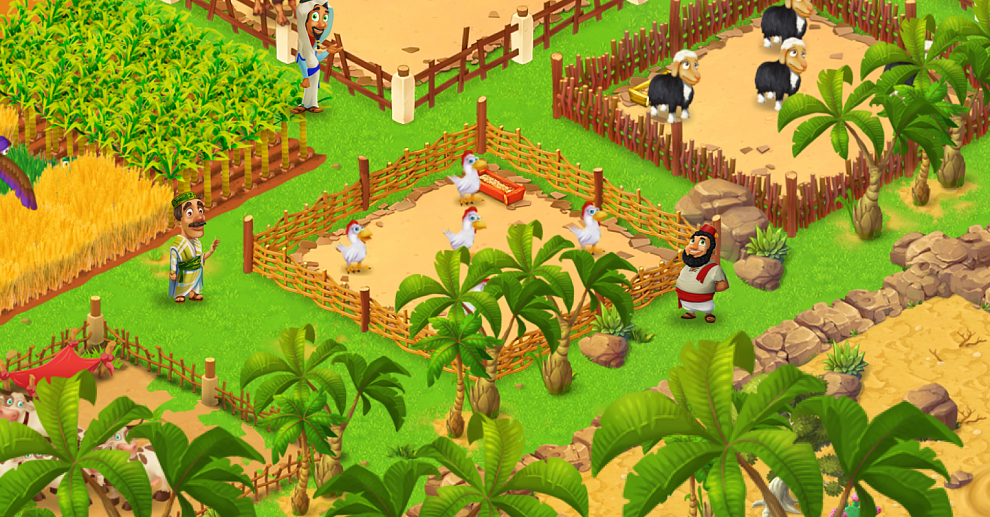 Screenshot № 1. Download Farm Mania: Silk Road and more games from Realore website
