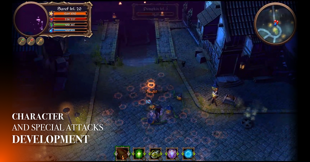 Screenshot № 5. Download Halloween Mysteries and more games from Realore website