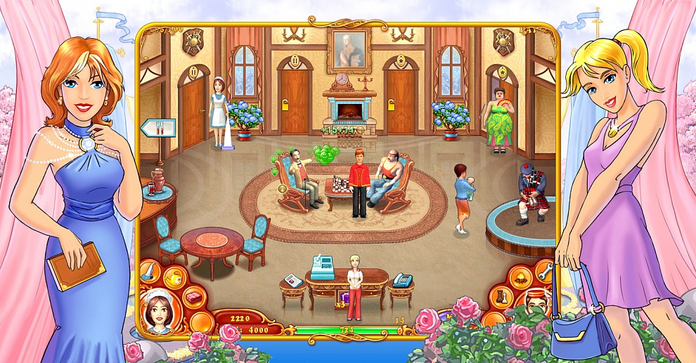 Screenshot № 3. Download Jane's Hotel 3: Mania and more games from Realore website