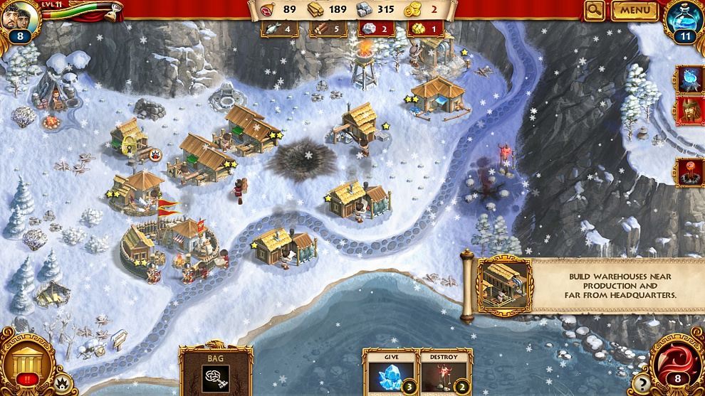 Screenshot № 8. Download Roman Adventures: Britons. Season 1 and more games from Realore website