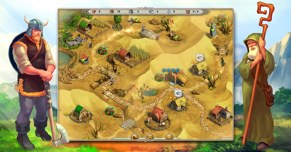 Screenshot № 3. Download Viking Saga 3: Epic Adventure and more games from Realore website