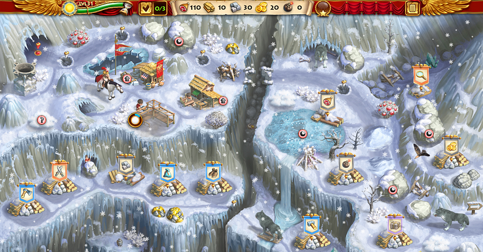 Screenshot № 4. Download Roads of Rome: New Generation 3 and more games from Realore website