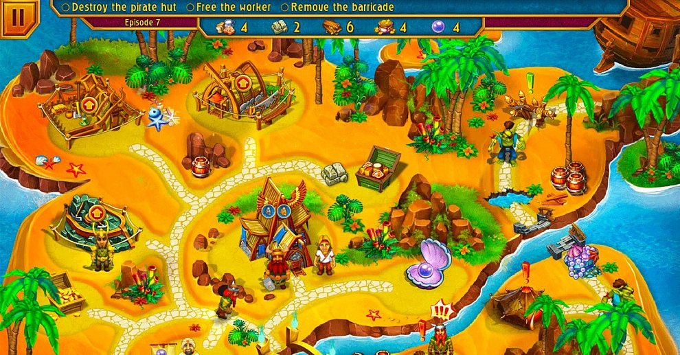 Screenshot № 1. Download Viking Brothers 4 and more games from Realore website