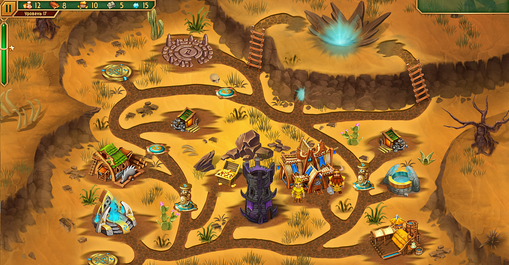 Screenshot № 3. Download Viking Brothers 3. Collector's Edition and more games from Realore website