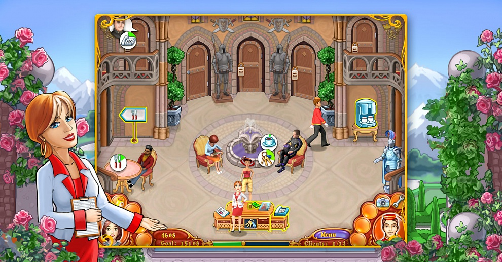 Screenshot № 5. Download Jane's Hotel 2: Family Hero and more games from Realore website