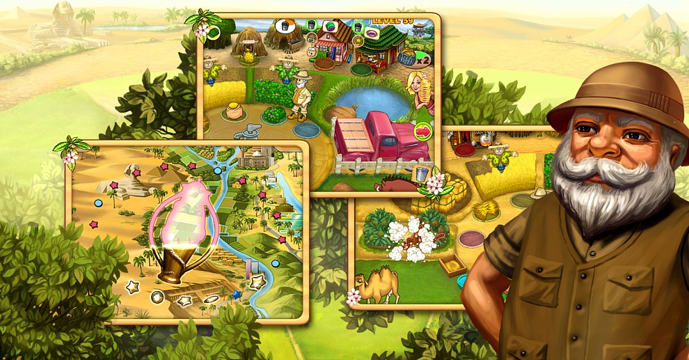 Screenshot № 3. Download Farm Mania 3: Hot Vacation and more games from Realore website
