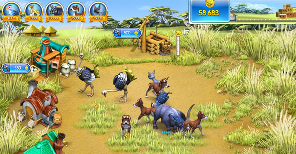 Screenshot № 1. Download Farm Frenzy 3 and more games from Realore website