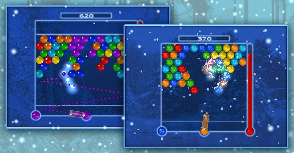 Screenshot № 2. Download Bubble Ice Age and more games from Realore website