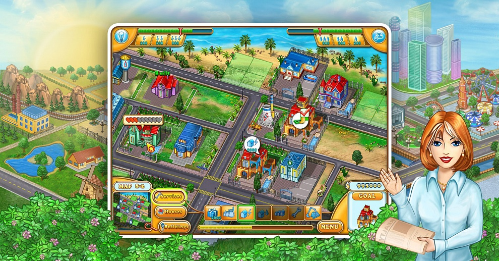 Screenshot № 2. Download Jane's Realty and more games from Realore website