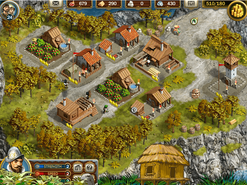 Screenshot № 5. Download Adelantado Trilogy. Book One and more games from Realore website