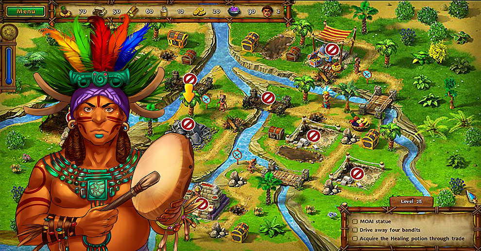 Screenshot № 2. Download Moai 3: Trade Mission Collector's Edition and more games from Realore website