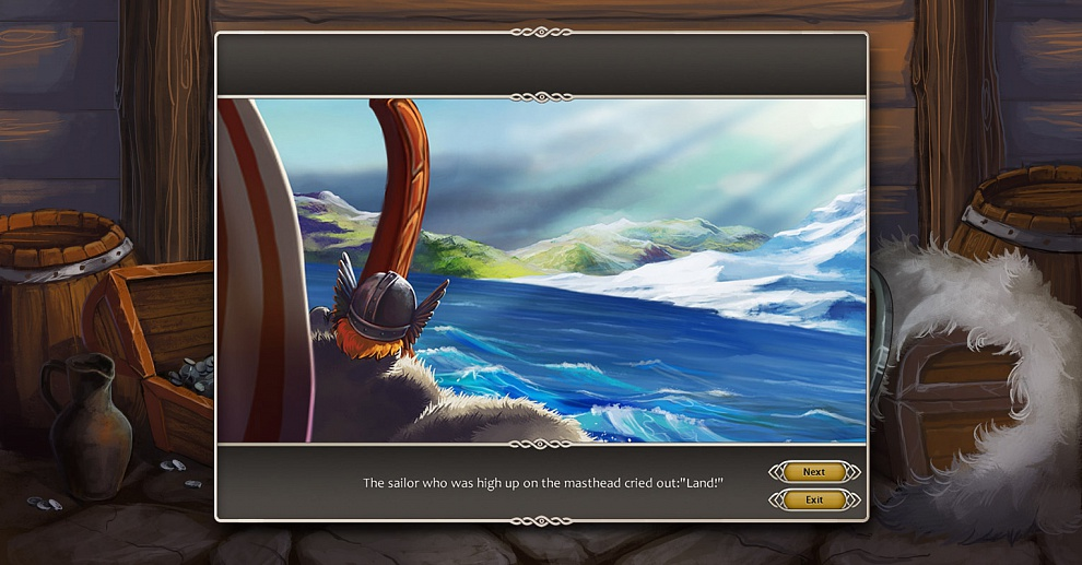 Screenshot № 2. Download Viking Saga 2: New World and more games from Realore website
