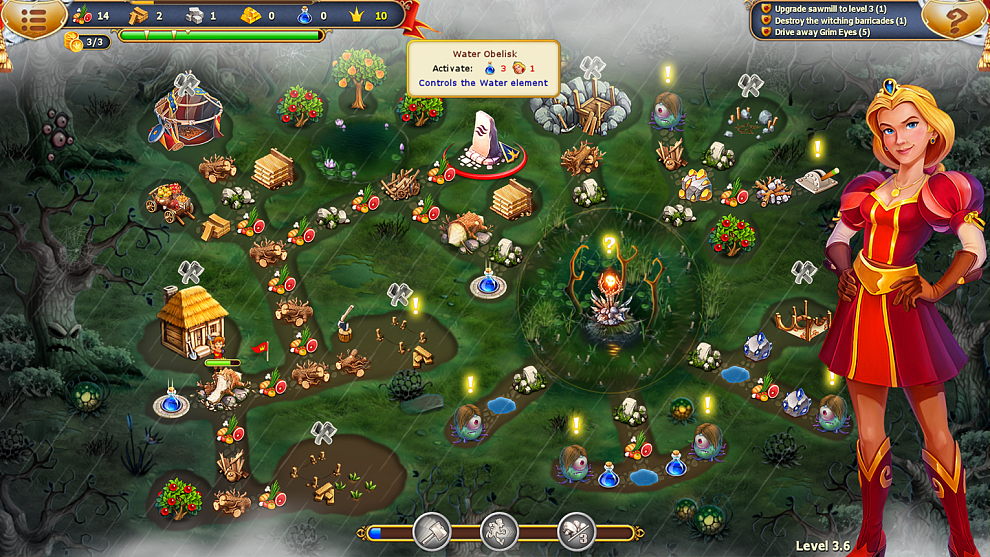 Screenshot № 2. Download Fables of the Kingdom III Collector's Edition and more games from Realore website