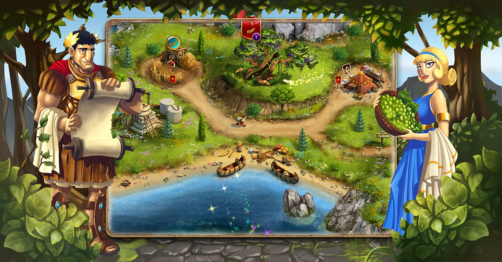 Screenshot № 2. Download When In Rome and more games from Realore website