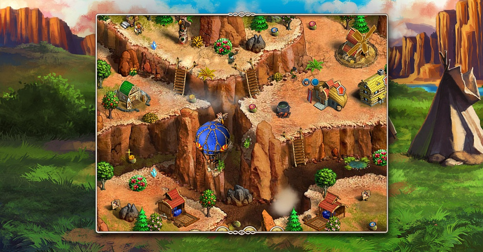 Screenshot № 5. Download Viking Saga 2: New World and more games from Realore website