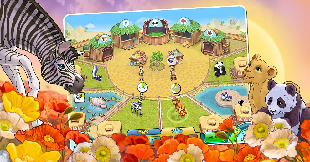 Screenshot № 2. Download Jane's Zoo and more games from Realore website