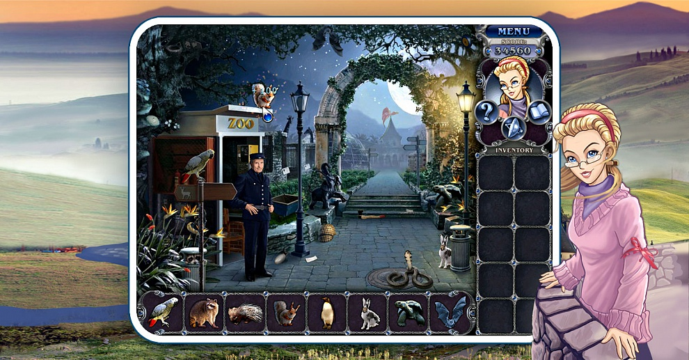 Screenshot № 2. Download 3 Days: Zoo Mystery and more games from Realore website