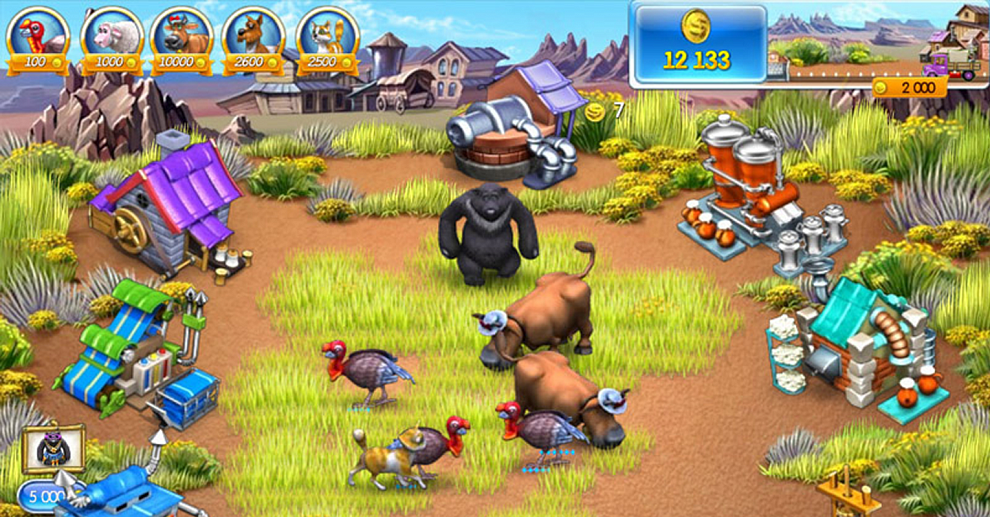 Screenshot № 4. Download Farm Frenzy 3 and more games from Realore website