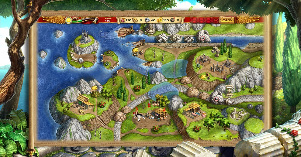 Screenshot № 2. Download Roads of Rome: New Generation and more games from Realore website