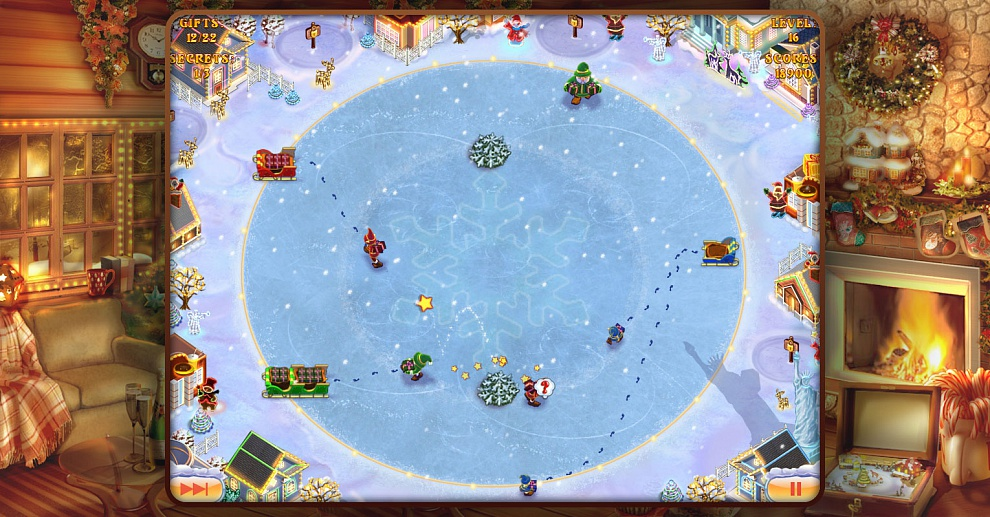 Screenshot № 4. Download Elves Inc.Christmas Mission and more games from Realore website