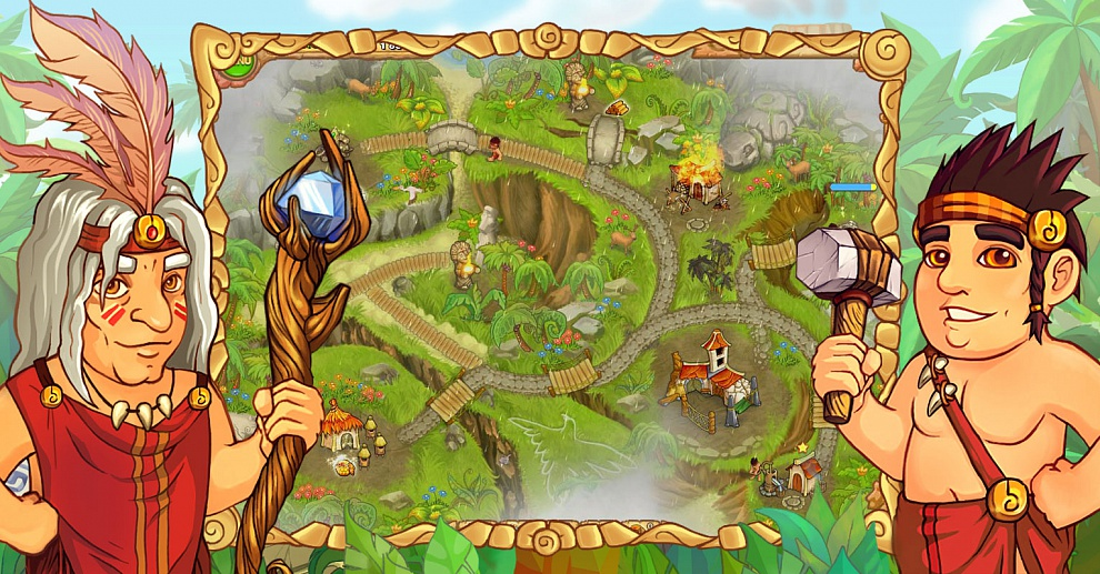Screenshot № 3. Download Island Tribe and more games from Realore website