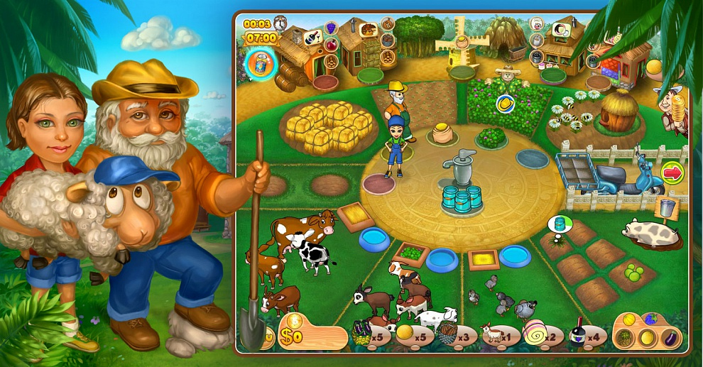 Screenshot № 7. Download Farm Mania 2 and more games from Realore website