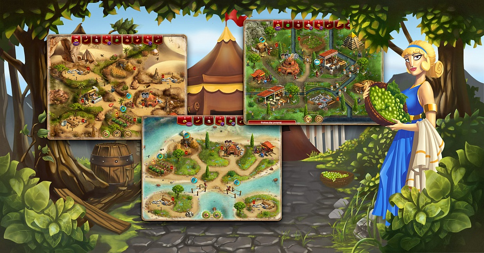 Screenshot № 5. Download When In Rome and more games from Realore website