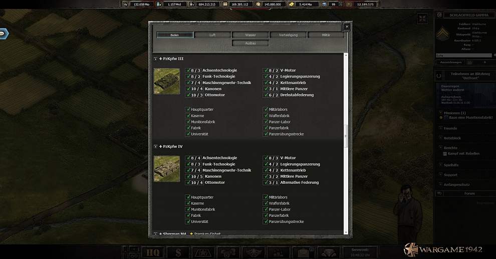 Screenshot № 2. Download Wargame 1942 and more games from Realore website