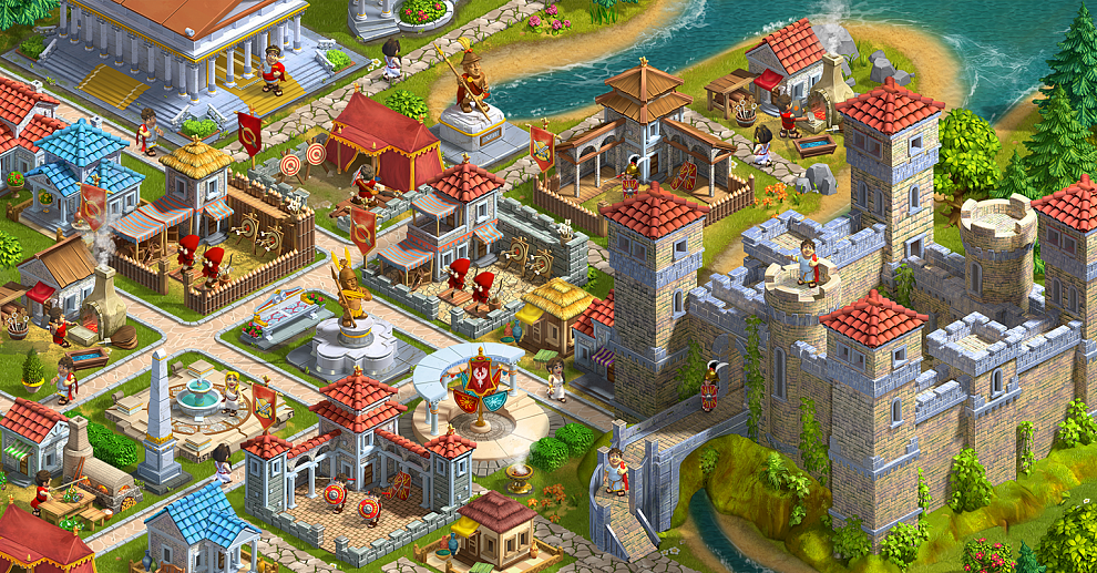 Screenshot № 2. Download Rise of the Roman Empire and more games from Realore website