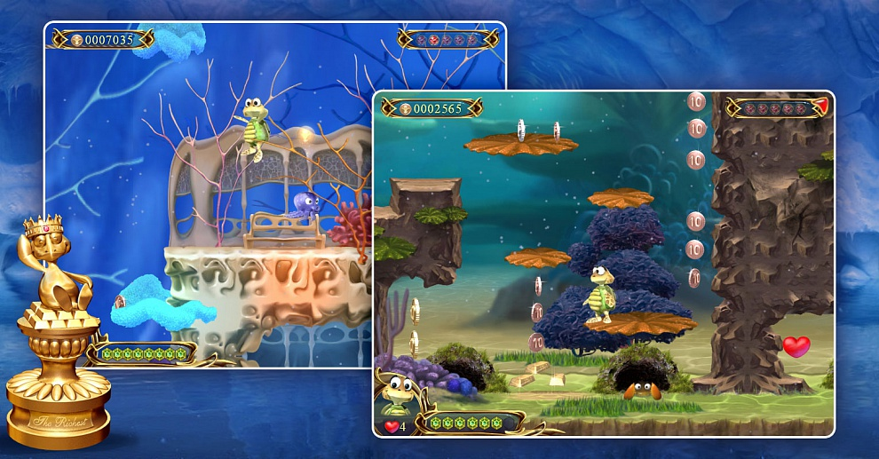 Screenshot № 5. Download Turtle Odyssey 2 and more games from Realore website