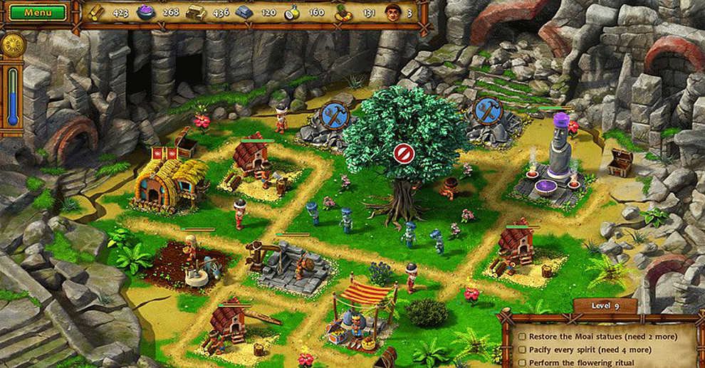 Screenshot № 5. Download Moai IV: Terra Incognita Collector's Edition and more games from Realore website