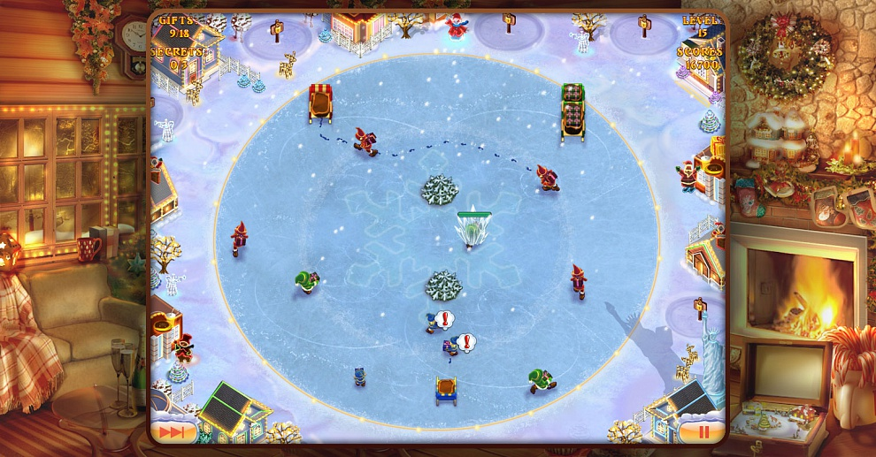 Screenshot № 5. Download Elves Inc.Christmas Mission and more games from Realore website