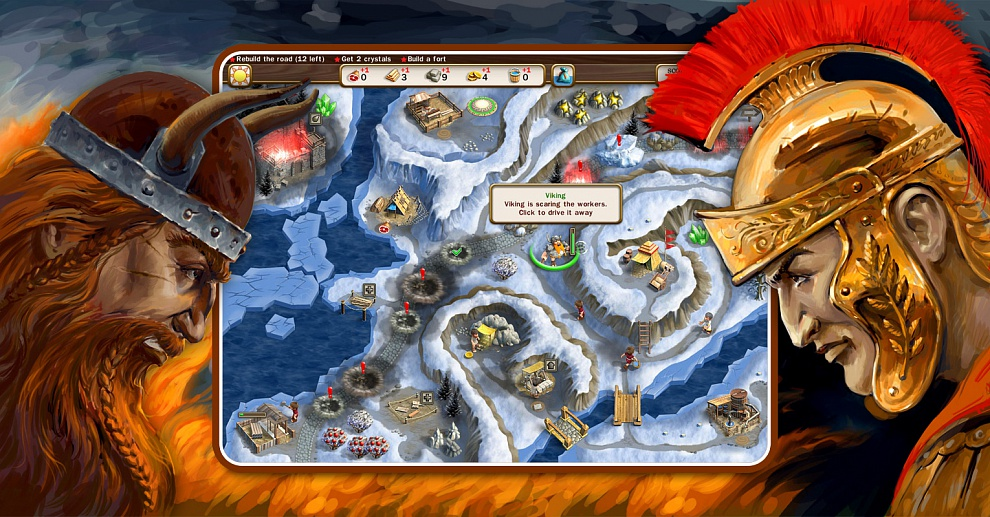 Screenshot № 4. Download Roads of Rome 3 and more games from Realore website