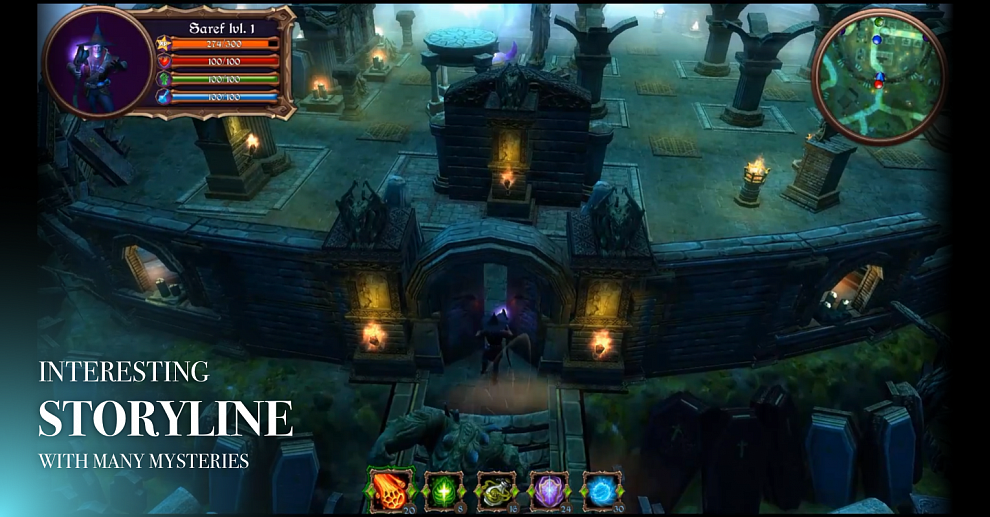 Screenshot № 4. Download Halloween Mysteries and more games from Realore website