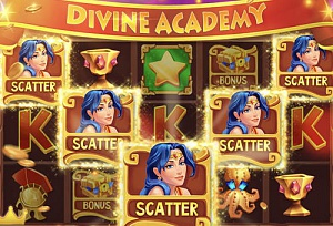 announcement picture Divine Academy Casino: Slots
