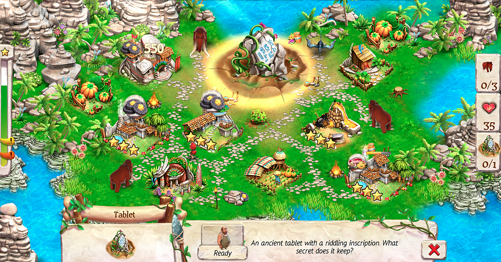 Screenshot № 2. Download Caveman Tales and more games from Realore website
