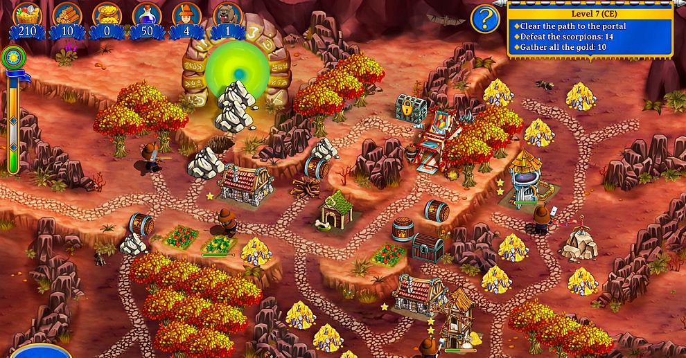 Screenshot № 2. Download New Yankee 8: Journey of Odysseus CE and more games from Realore website