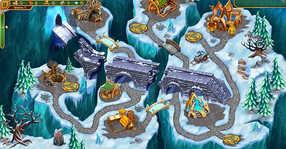 Screenshot № 2. Download Viking Brothers 3. Collector's Edition and more games from Realore website