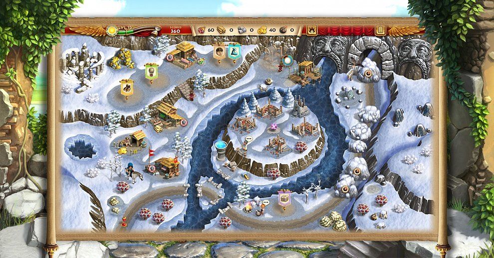 Screenshot № 2. Download Roads of Rome: New Generation 2 and more games from Realore website