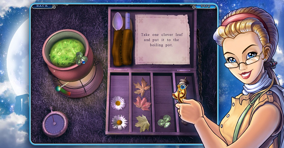 Screenshot № 3. Download 3 Days: Amulet Secret and more games from Realore website