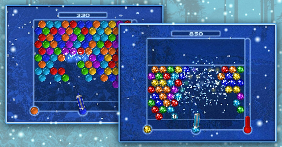 Screenshot № 1. Download Bubble Ice Age and more games from Realore website