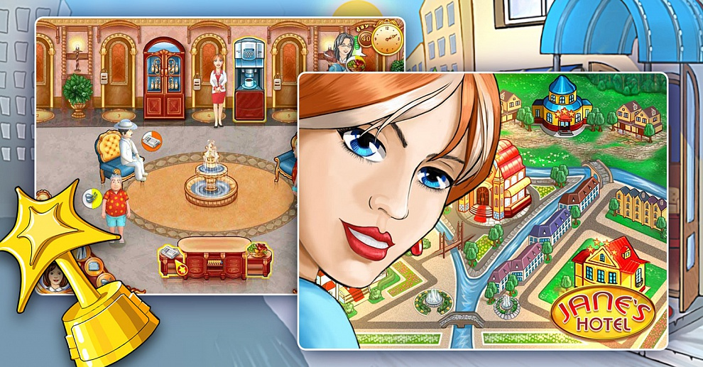 Screenshot № 2. Download Jane's Hotel and more games from Realore website