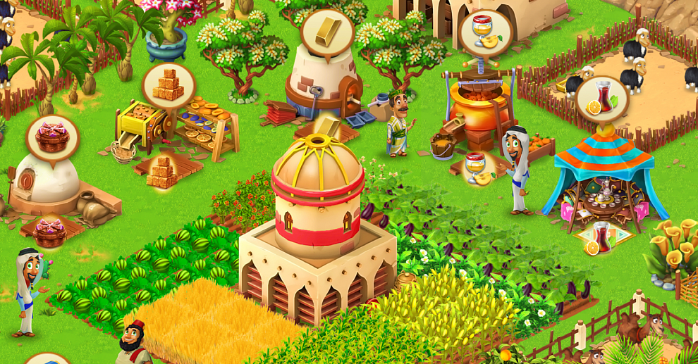 Screenshot № 3. Download Farm Mania: Silk Road and more games from Realore website