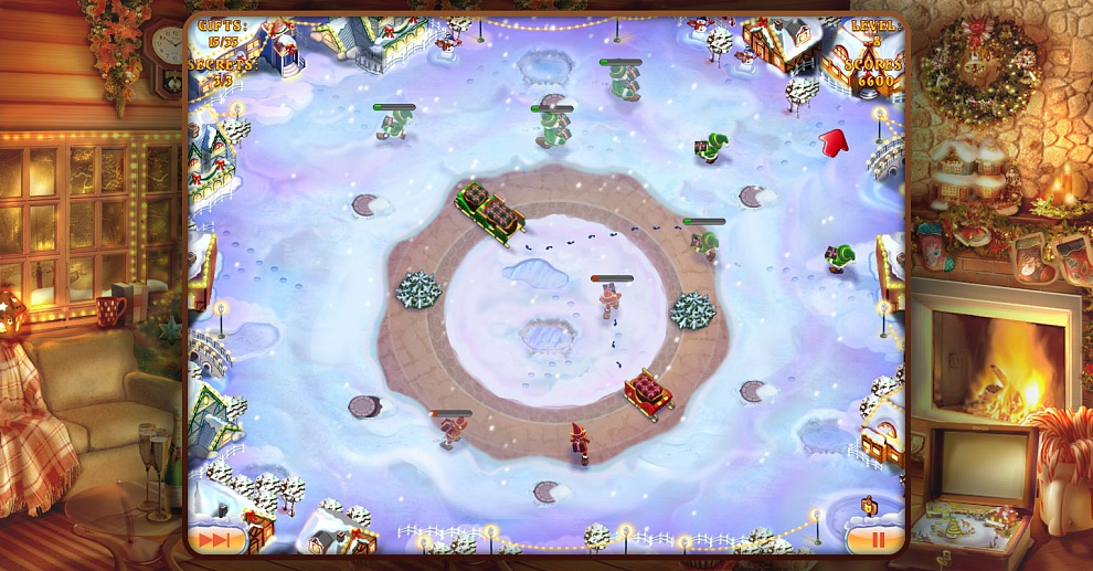 Screenshot № 3. Download Elves Inc.Christmas Mission and more games from Realore website