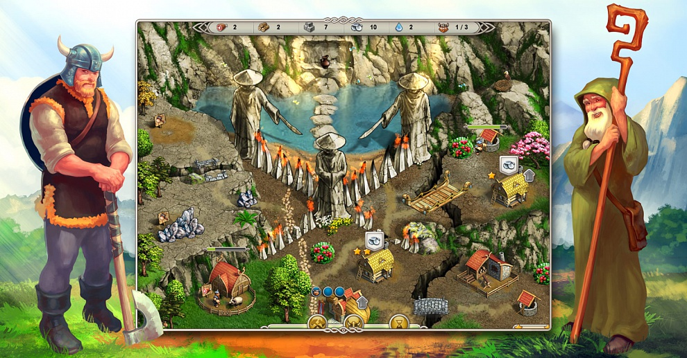Screenshot № 4. Download Viking Saga 3: Epic Adventure and more games from Realore website