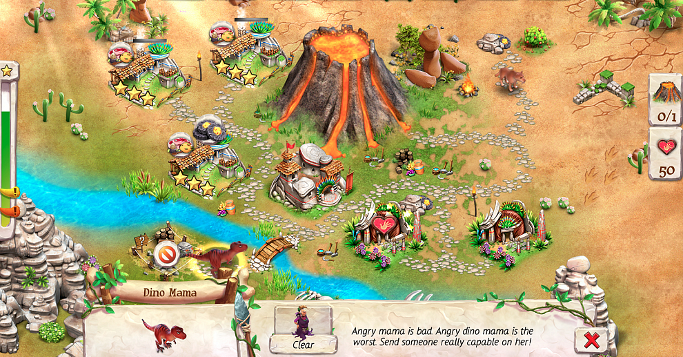 Screenshot № 3. Download Caveman Tales and more games from Realore website